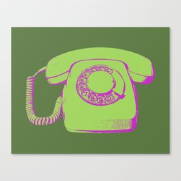 FAVOURITE90 - Telephone Canvas Print