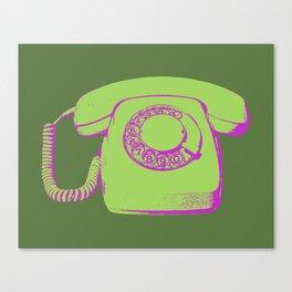 FAVOURITE90 - Telephone Canvas Print