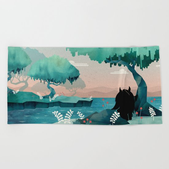The Journey Beach Towel