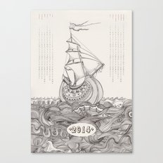 Kalender 2014 Canvas Print