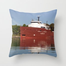 Herbert C Jackson Throw Pillow
