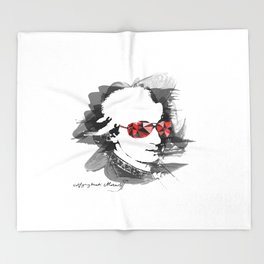 Wolfgang Amadeus Mozart Throw Blanket