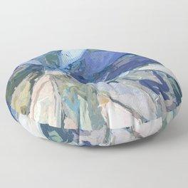 412 - Abstract Colour Design Floor Pillow