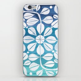 Blue Zellige iPhone Skin