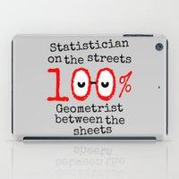 math iPad Cases featuring Math Geek by mailboxdisco