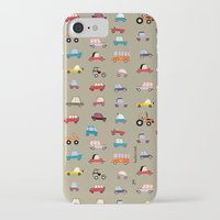 cars iPhone & iPod Cases featuring Cars by Marcelo Badari