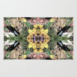 Wildlife Kaleidoscope Rug