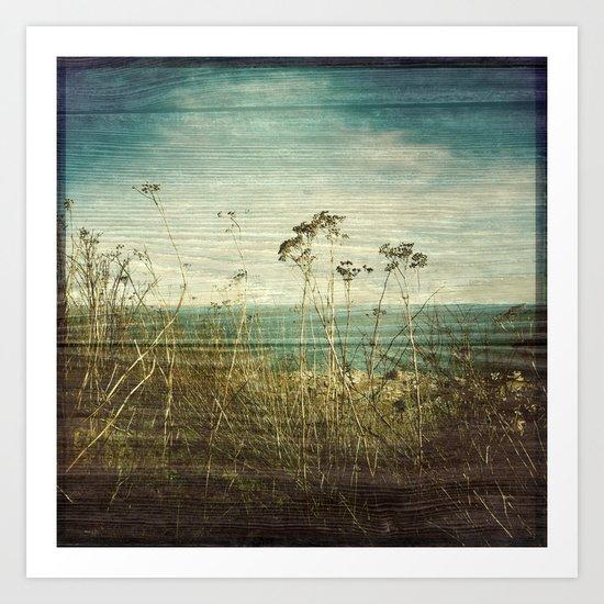 Wind II Woodblock Art Print