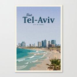 Visit Tel-Aviv Canvas Print