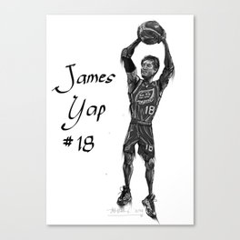 James Yap Canvas Print