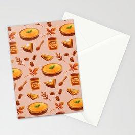Autumn Pumpkin Pie Stationery Cards
