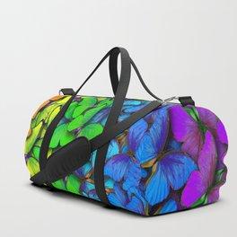 Colorful Butterflies Duffle Bag