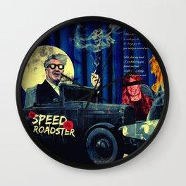 Speed Roadster Wall Clock