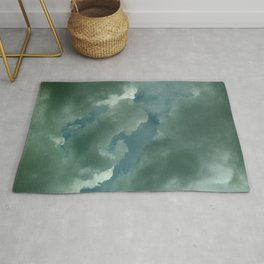 """""""Patterns of Nature"""" Clouds Rug"""