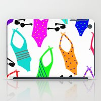 suits iPad Cases featuring Bathing Suits by Whatcha-McCall-it
