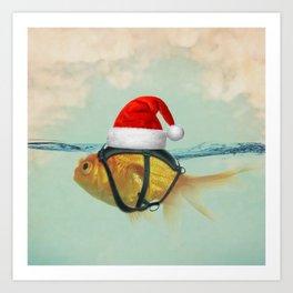 A Brilliant Disguise Christmas Art Print