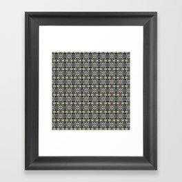 Peekamoose Waterfall Rocks Pattern Framed Art Print