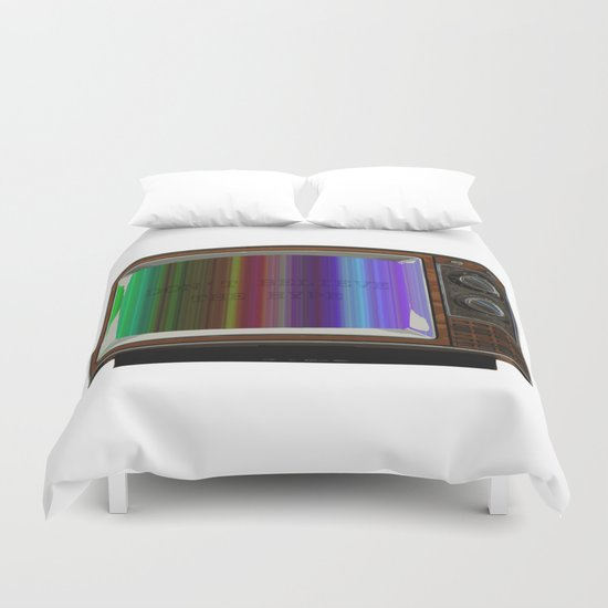 Don't believe the hype Duvet Cover
