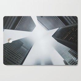 Hyper Fog - New York City Cutting Board