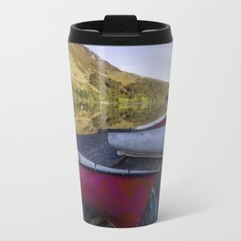 Llyn Crafnant Boats Travel Mug