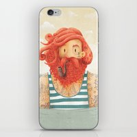 beach iPhone & iPod Skins featuring Octopus by Seaside Spirit