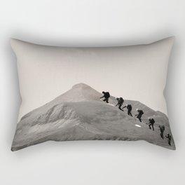 ...Nipple Hike... Rectangular Pillow