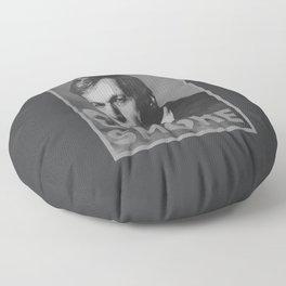 Smoke! Funny Obama Hope Parody (Smoking Man)  Floor Pillow