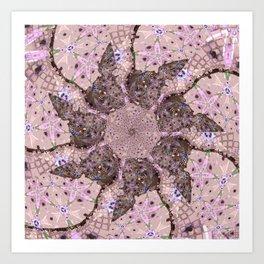 The Pink Flower Art Print