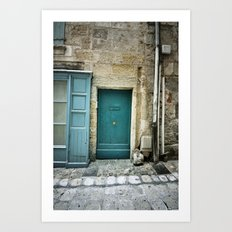 Histoire de portes III Art Print