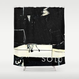 Analogknockout Shower Curtain