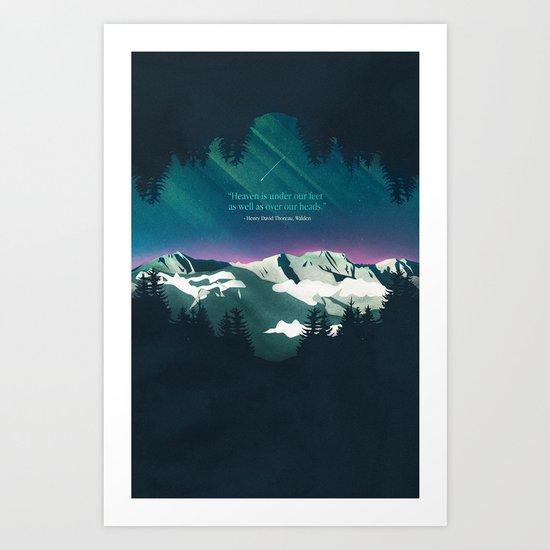 Heaven Sent Art Print