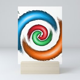 Symmetrical Seduction Mini Art Print