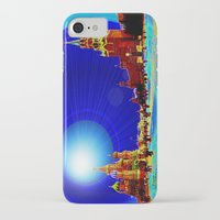 moscow iPhone & iPod Cases featuring Moscow by JT Digital Art
