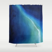 atlas Shower Curtains featuring Atlas by SABartStudio
