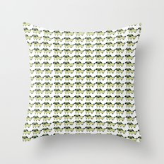 pugpugs Throw Pillow
