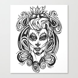Day of the Dead India Canvas Print