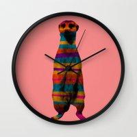 hakuna Wall Clocks featuring Hakuna Piñata by Triplea