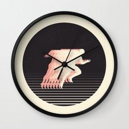 Terrestrial Locomotion Wall Clock