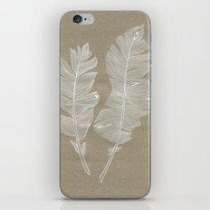 white feathers iPhone & iPod Skin