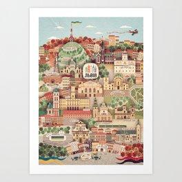 Lviv. Open for the World. Art Print