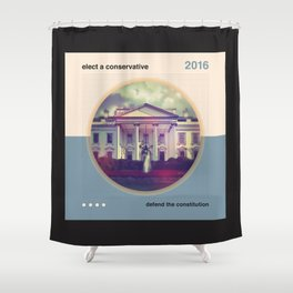 Elect A Conservative Shower Curtain