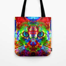 Sir Parker the Chromatic Cat Tote Bag