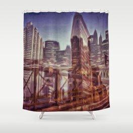 city 77 Shower Curtain
