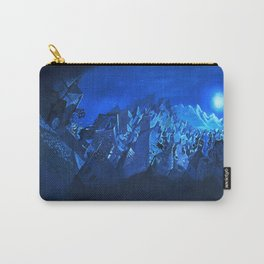 blue village Carry-All Pouch