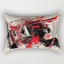 Time flies [ teMpus fuGit ] Rectangular Pillow