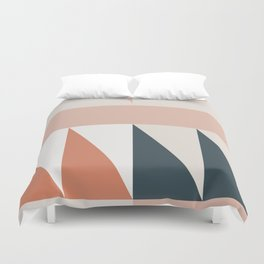 Cirque 04 Abstract Geometric Duvet Cover