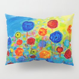 Abstract flowers Pillow Sham