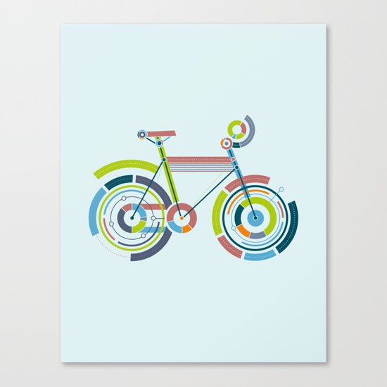 Bicyrcle Canvas Print
