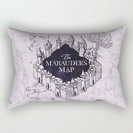 Marauders map Rectangular Pillow