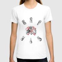teeth T-shirts featuring Teeth by Ilya kutoboy